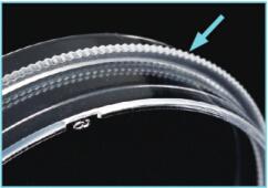 细胞培养皿侧边齿环设计