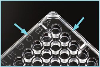 细胞培养板上坐标标识